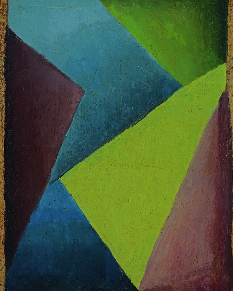 Esteban Lisa (1895–1983), Composición (Composition), c. 1935 (front) - oil on cardboard, 30 x 23 cm, private collection © Fundación Esteban Lisa